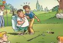 Les Golfeurs en BD.