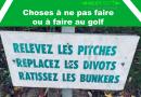 Choses à ne pas faire au golf, ou à corriger!